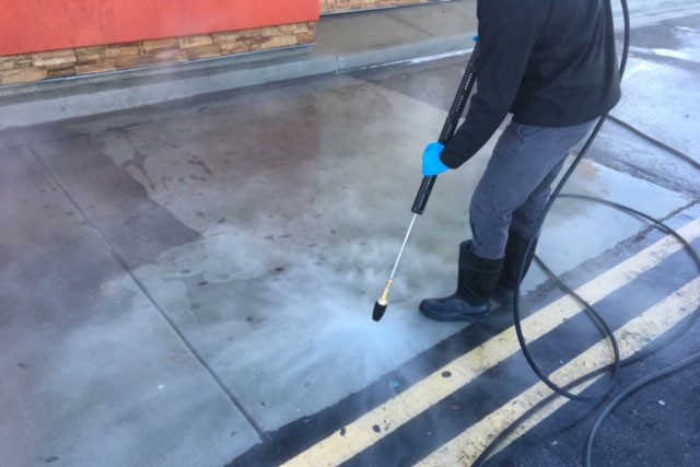 CleanTex professional cleaning drive-thru